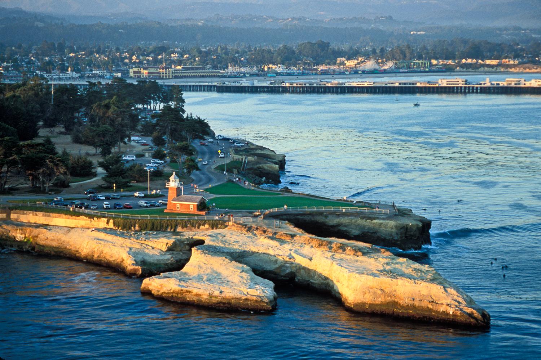 Lighthouse Point, Santa Cruz, California